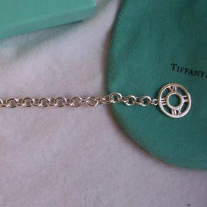 "Tiffany & Co. Jewelry - Tiffany & Co. Silver ""Atlas"" Bracelet"